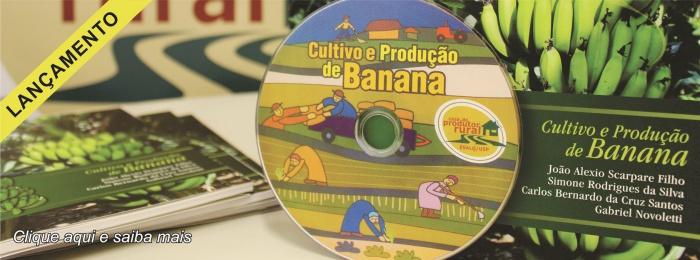 Banner - Lançamento Livro e DVD Banana
