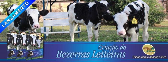 Banner - Lançamento Livro Criação de Bezerras Leiteiras